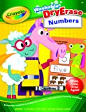 Crayola Washable Dry-Erase Numbers Workbook, Learn Handwriting Skills, Erase and Start Again, Over 30 Learning…