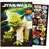 Disney Studios Classic Star Wars Giant Coloring Book with Stickers (144 Pages)