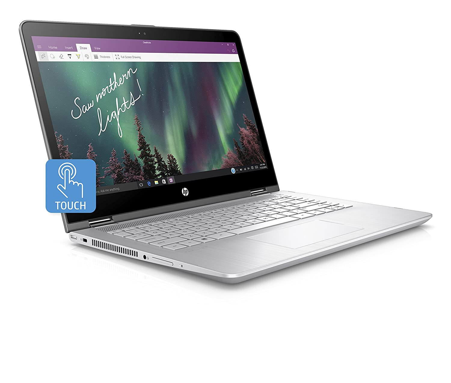 HP Pavilion 14-ba105na 14-inch FHD Touch-screen Convertible Laptop (Mineral  Silver) - (Intel i5-8250U, 8 GB RAM, 128 GB SSD, Intel UHD Graphics 620, ...