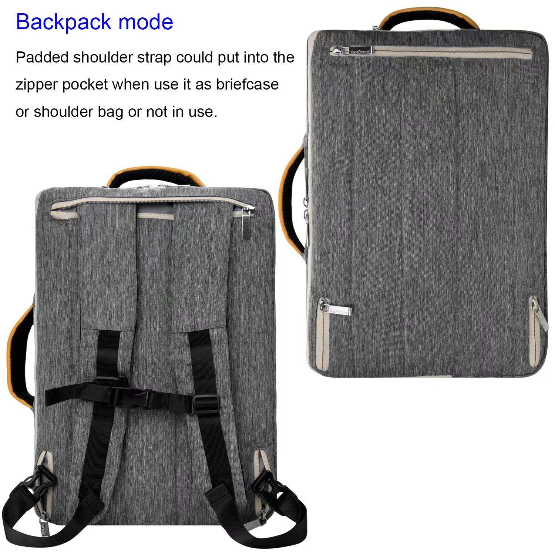 Hybrid Tote//Messenger//Backpack//Briefcase 13.3-14 Inch Laptop Bag Fit HP ChromeBook//EliteBook//Envy//Spectre//Stream//Probook//Essential//Mobile Thin Client//Zbook//Pavilion