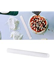 Large Polyethylene Rolling Pin 50CM (20 Inch) - Non Stick, No Handle Plastic Rolling Kit - Perfect for Baking, Pasta, Fondant, Pizza and Dough - Dishwasher Safe Roller with Smooth Tapered Design