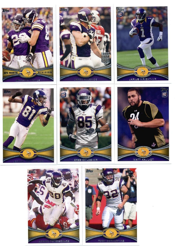 2012 B00B7A3B6C Topps Minnesota Vikings NFLチームセット( Sealed )。 – 12カードなど Vikings、ピーターソン、Harvin、Christian Ponder、スミスRC、Wright RC、Kalil RC、Childs、RC and more。 B00B7A3B6C, パン処 あんずのしっぽ:5693d296 --- harrow-unison.org.uk