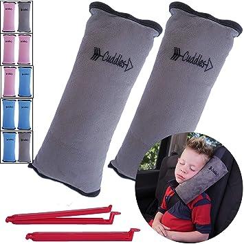 Amazon.com: Cojín para cinturón de seguridad para niños de ...
