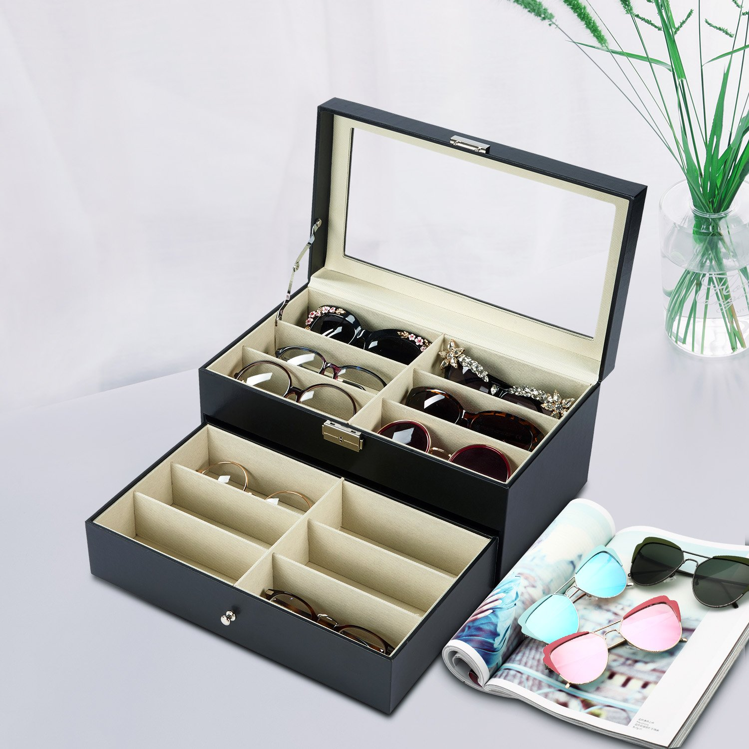 e3db95c21bd Moldiy Sunglasses Display box for Watches and Jewelry