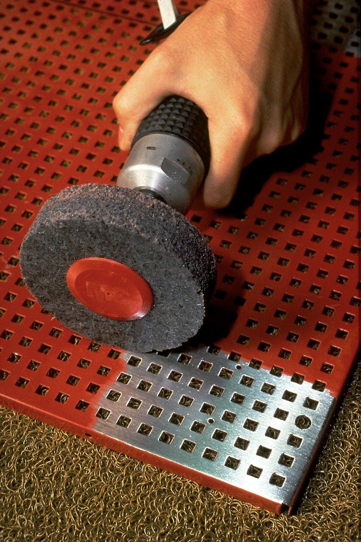 Silicon Carbide Clean and Strip Unitized Wheel TM Pack of 2 7S Extra Coarse Grit 6 Diameter x 1 Width 7000 rpm Scotch-Brite 3M CS-UW 1 Arbor