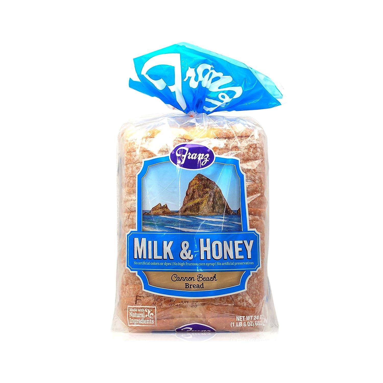 Franz Cannon Beach Milk Honey Natural Bread 24 Oz Amazon Com Grocery Gourmet Food