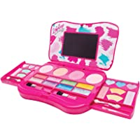 Make it Up My Laptop Girls Makeup Set Fold Out Makeup Palette with Mirror and Secure Close - SAFETY TESTED- NON TOXIC