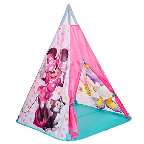 new concept 50e36 08c7f Minnie Mouse Teepee Play Tent