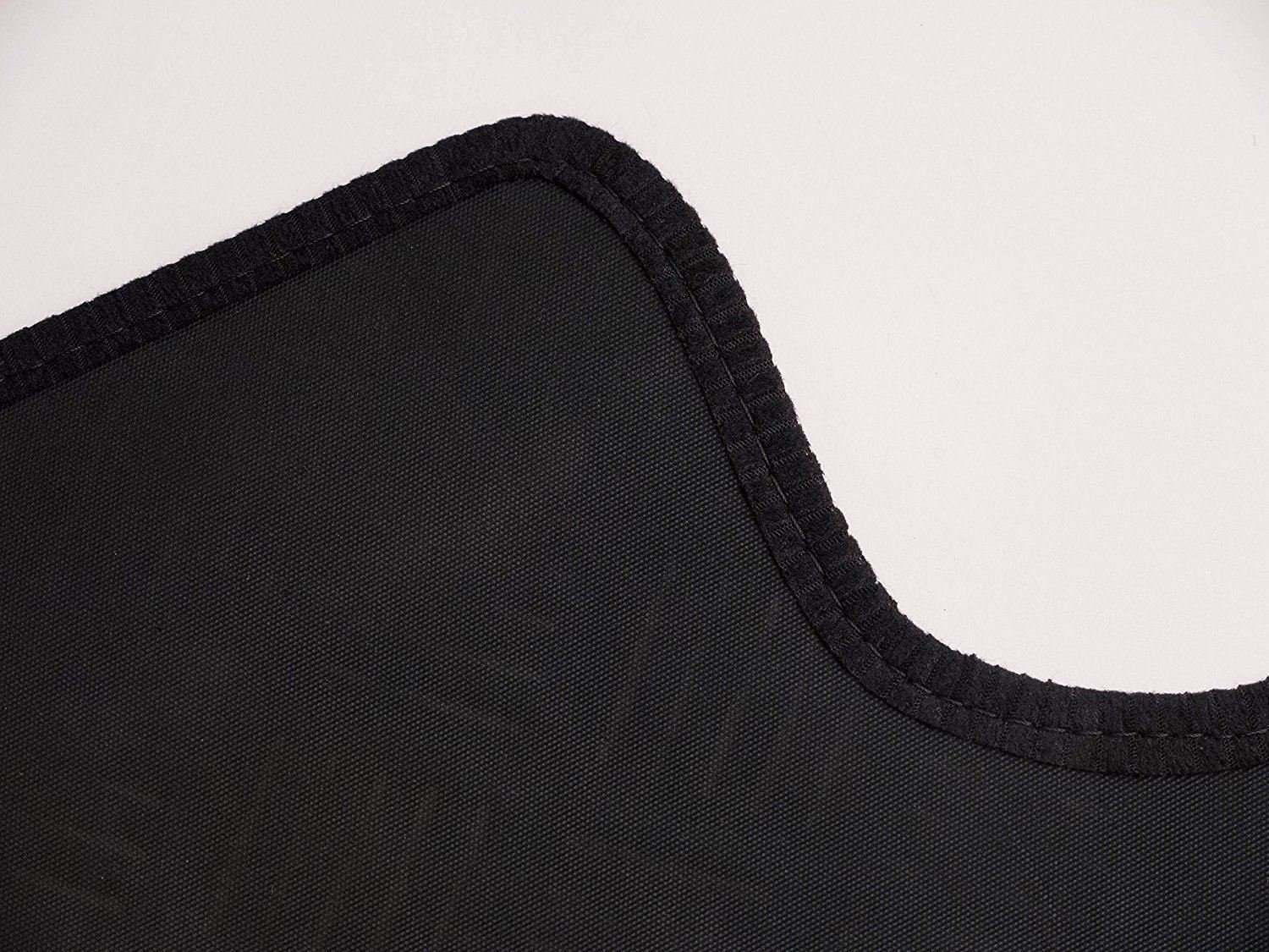 UKB4C Fully Tailored Black Rubber Car Mats for T5 Facelift //T6 Set of 1xl