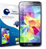 Tech Armor Clear Screen Protector for Samsung Galaxy S5 (Pack of 3)