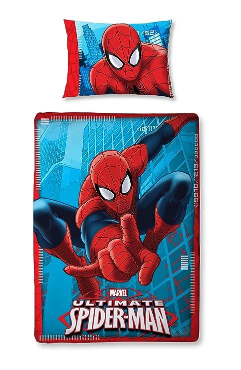Copripiumino Lettino Con Sponde.Character World Completo Copripiumino Lettino Con Sponde Spiderman Ultimate