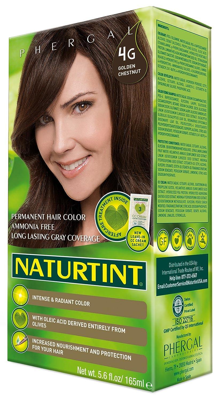 Amazon.com : Naturtint Permanent Hair Color - 4G Golden Chestnut ...