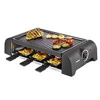KORONA K45065 Appareil à raclette/grill Noir 1000 W