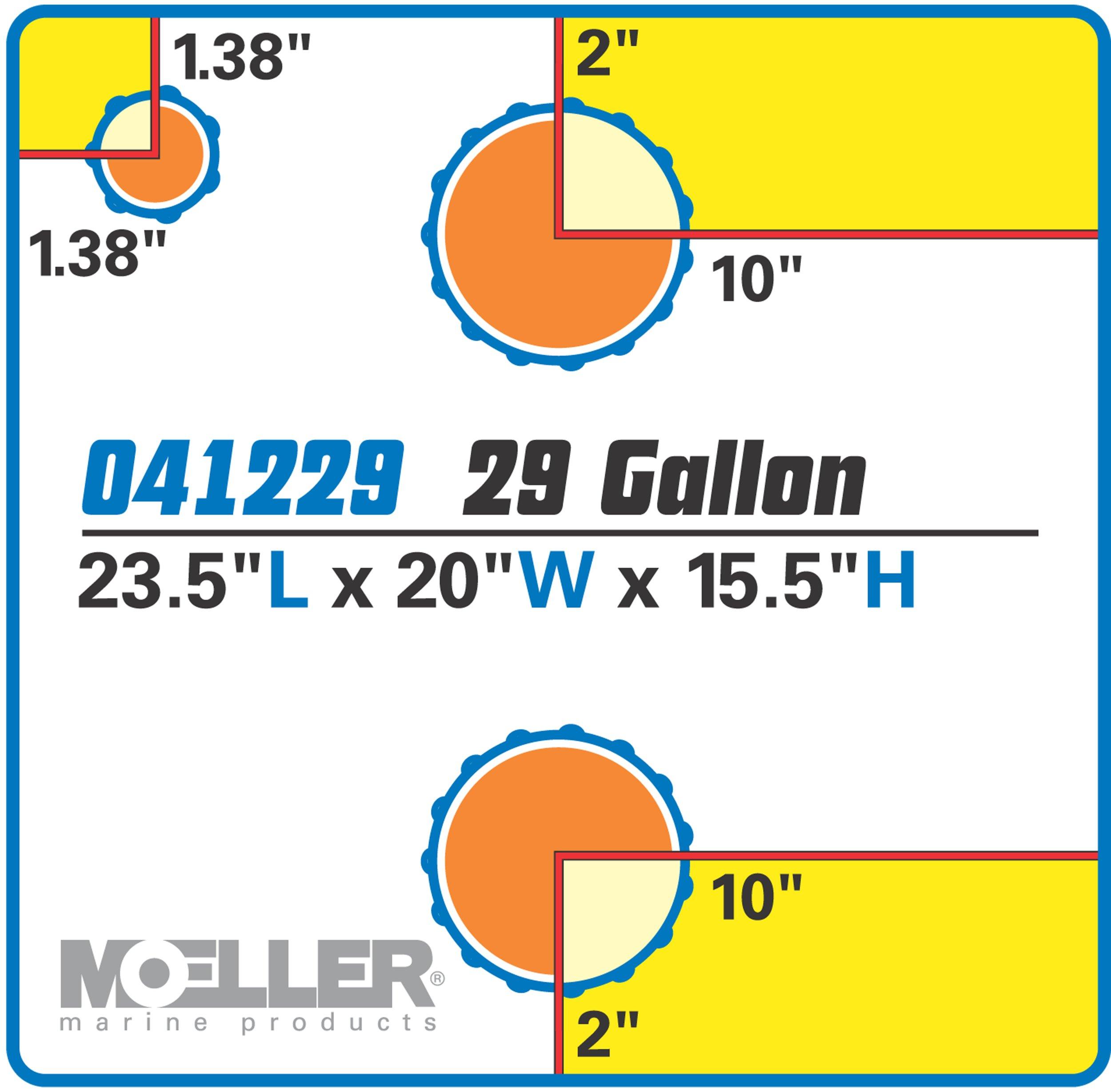 Moeller Marine Waste Tank (28-Gallon) by Moeller Marine