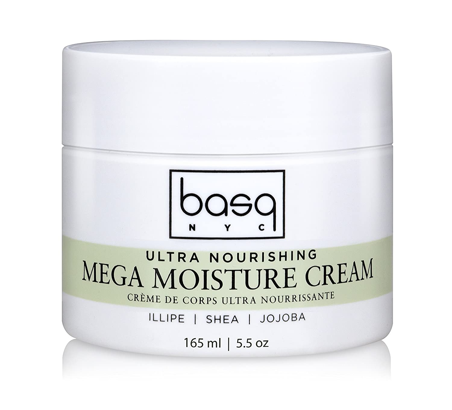 basq Mega Moisture Cream, 5.5 oz Basq Skin Care 05-MM5.5