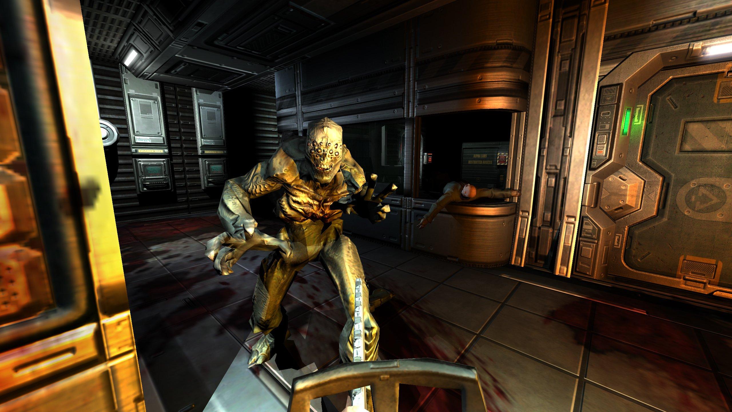 Amazon com: Doom 3 - BFG Edition: Xbox 360: Bethesda Softworks Inc