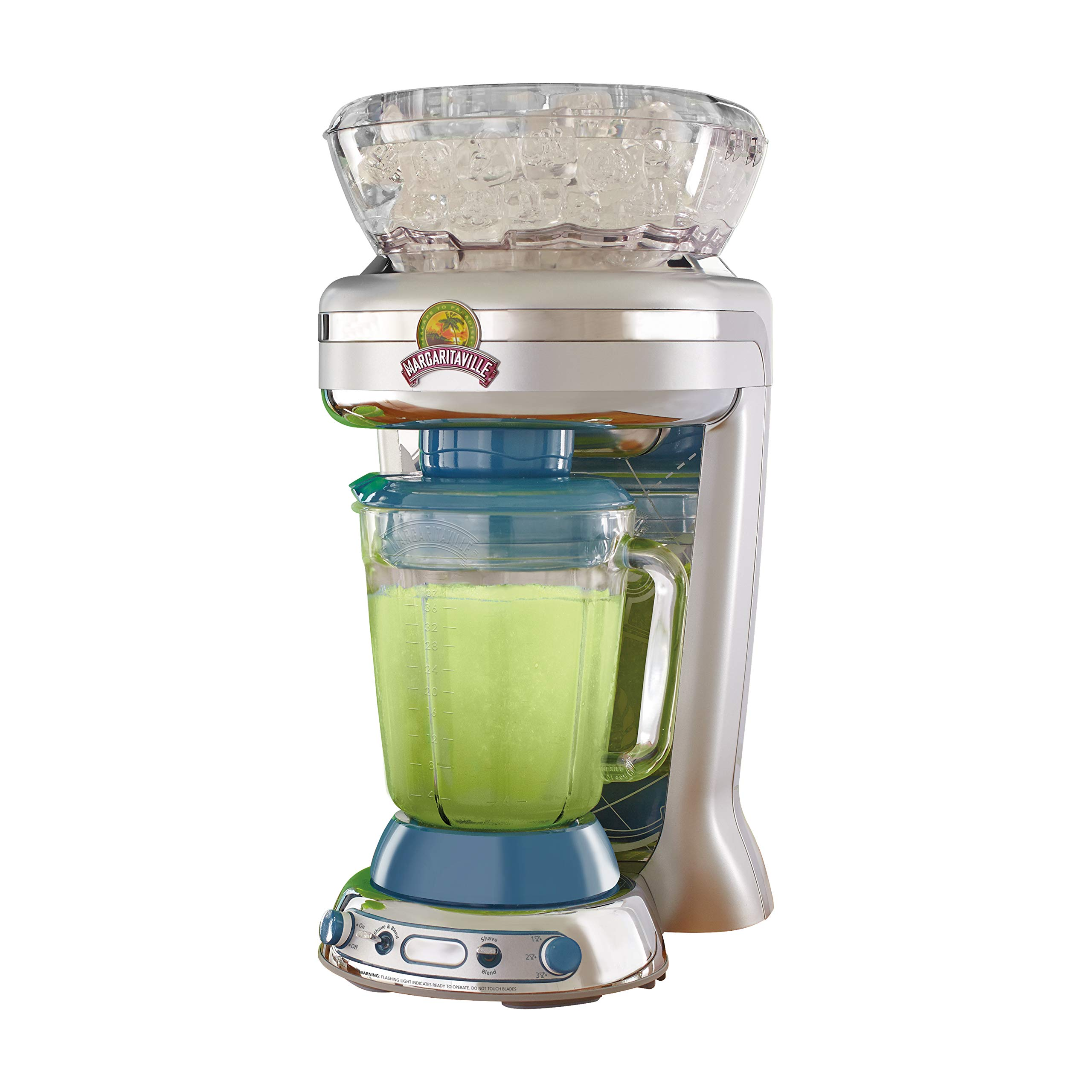 Margaritaville Key West Frozen Concoction Maker with Easy Pour Jar and XL Ice Reservoir by Margaritaville