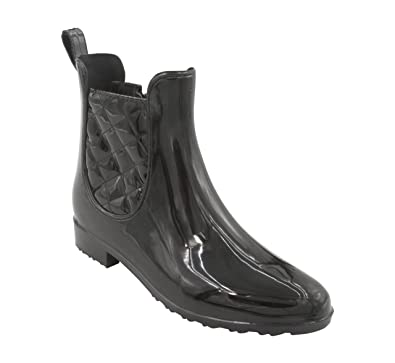 Lydia Womens Ankle High Rain Boots