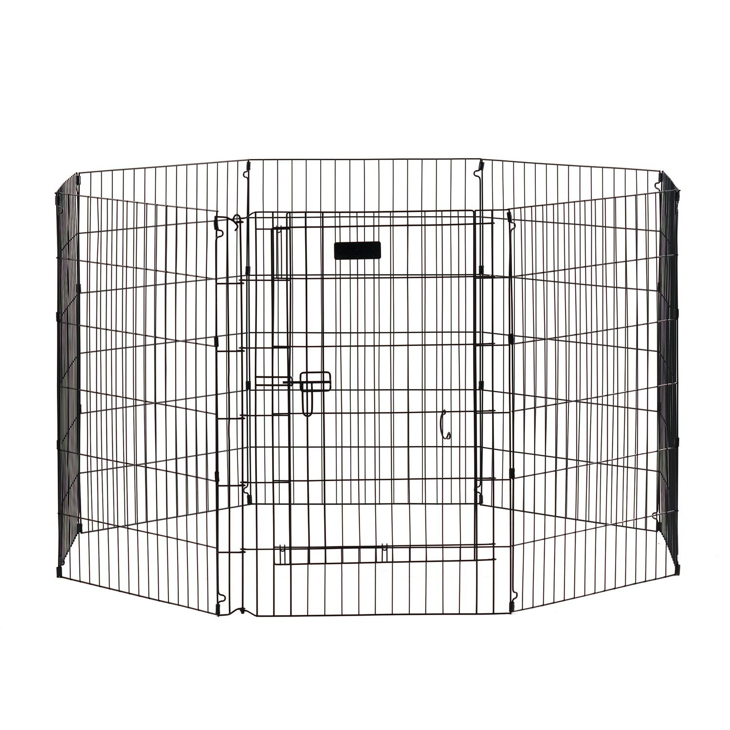 Precision Pet 30 in. Ultimate ExPen Black Boxed