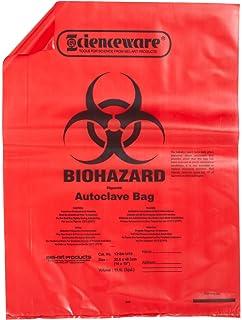 Amazon.com: bel-art f13164 – 1923 Rojo Biohazard eliminación ...