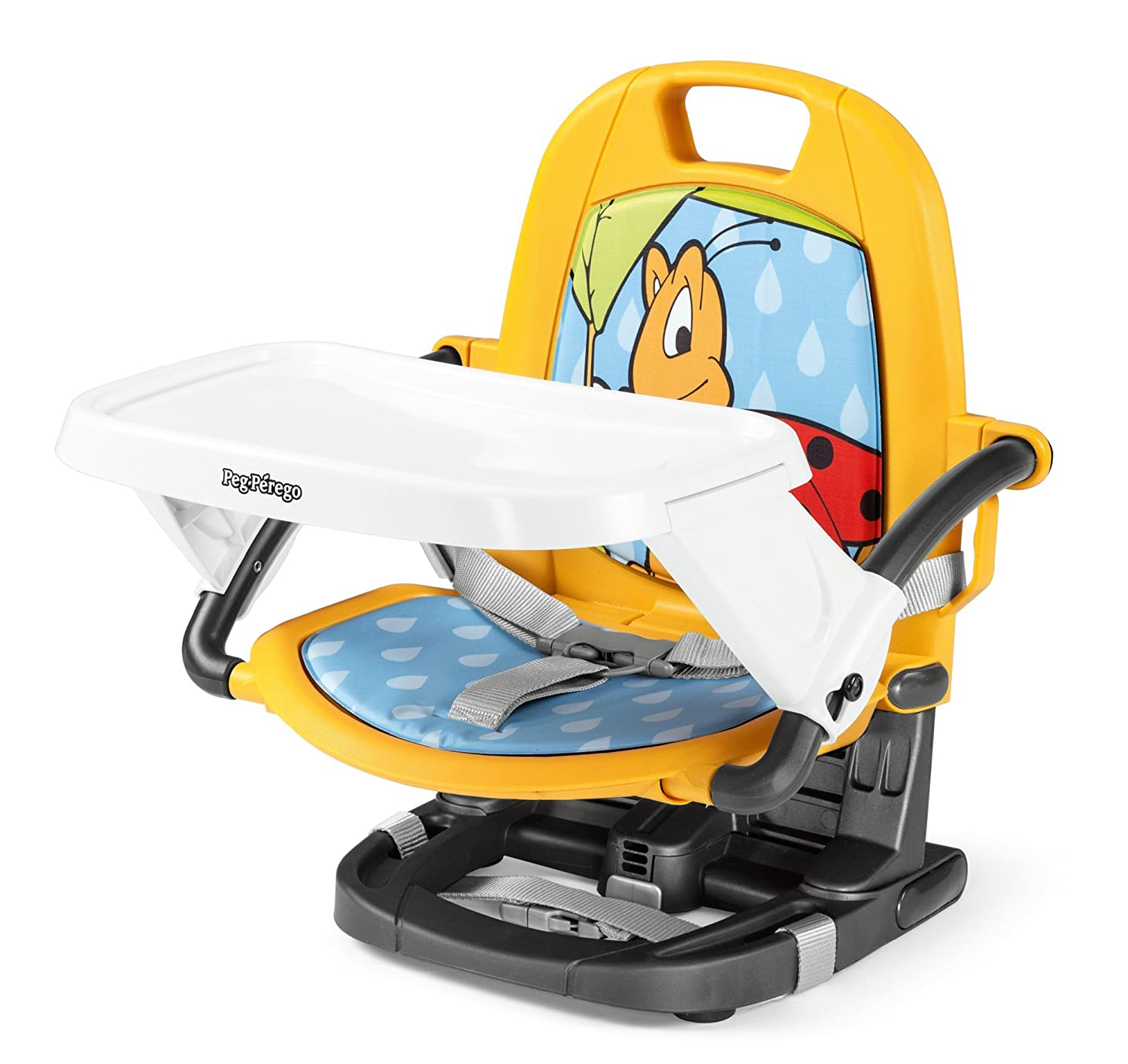 Booster Chair That Is Easy To Open, Close And Carry Anywhere Rialto Tucano Peg Perego HRIAX1TUCA