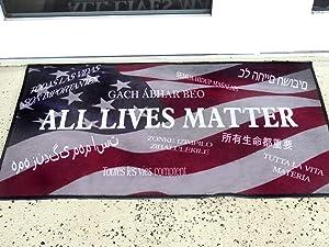 All Lives Matter Door mat ; Proudly Display at Your Home and Office! Exhiba con Orgullo en su casa o oficina!