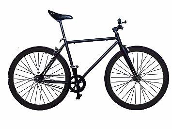 Fixie Helliot Tribeca H23 - Bicicleta Fixie, Cuadro de Acero, Frenos V-Brake