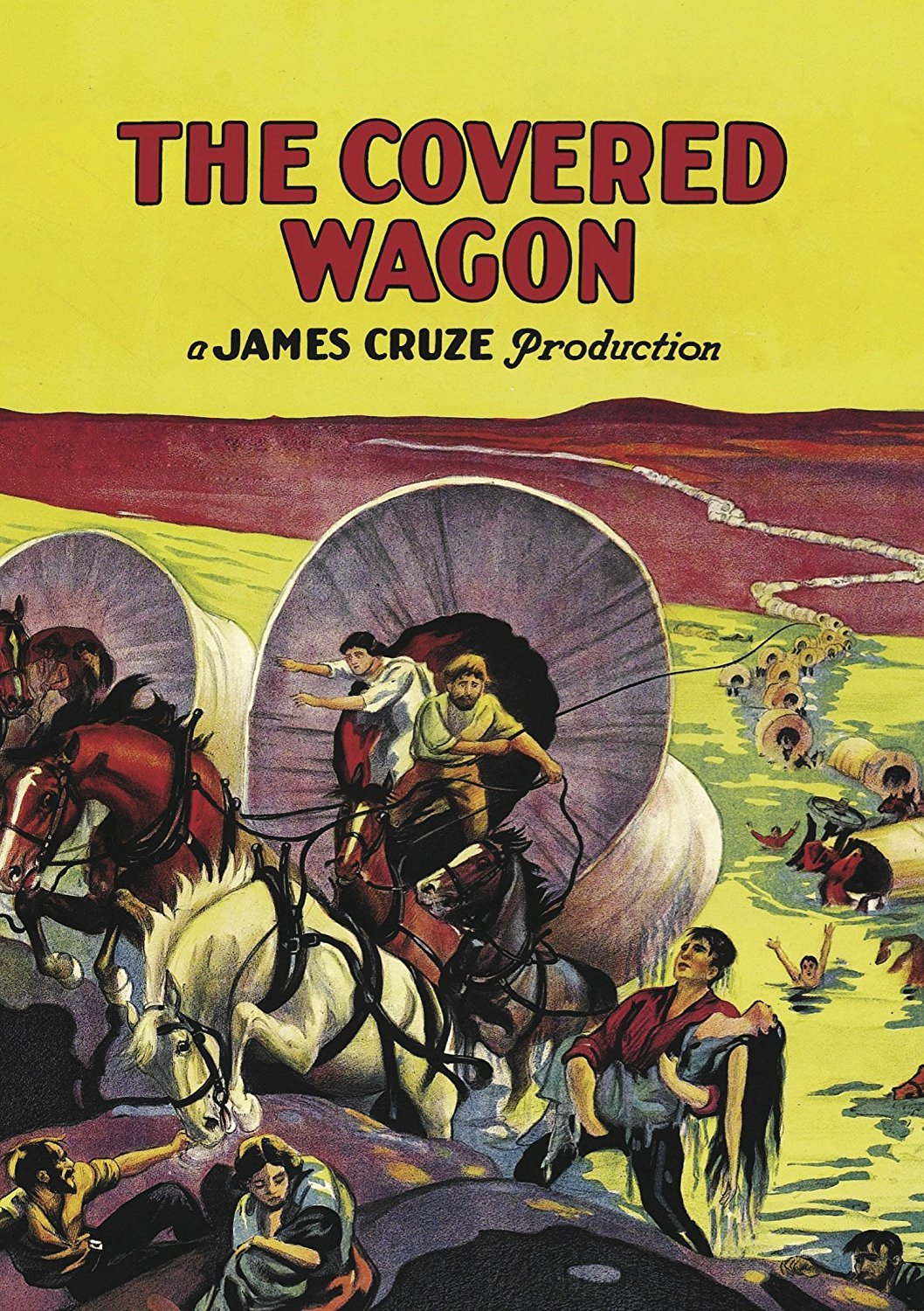 DVD : The Covered Wagon (Silent Movie)