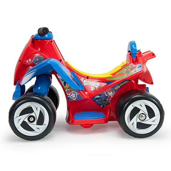 Amazon.com: Injusa Paw Patrol Wings 6V Kids Quad Bike Red: Sports ...