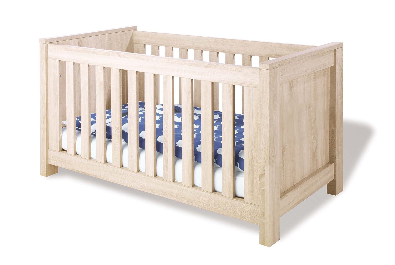 Pinolino Kinderbett Carus, modernes Kinderbett (140 x 70 cm) mit 3 ...