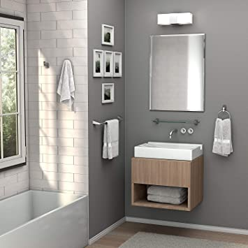 Buy Quality Glass Frameless Decorative Mirror For Wall Bathrooms Home Decor Size 18 X 24 Inch Online At Low Prices In India Amazon In