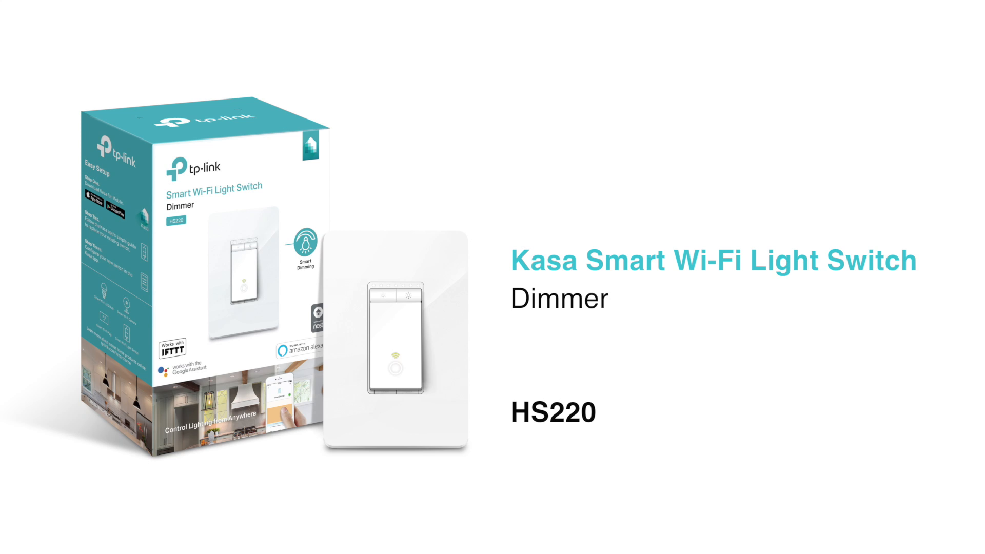 Kasa Smart Wi Fi Light Switch 3 Pack By Tp Link Control Lighting Replacing Single Pole From Anywhere Easy In Wall Installation