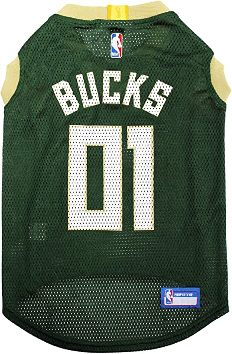 NBA MILWAUKEE BUCKS DOG Jersey