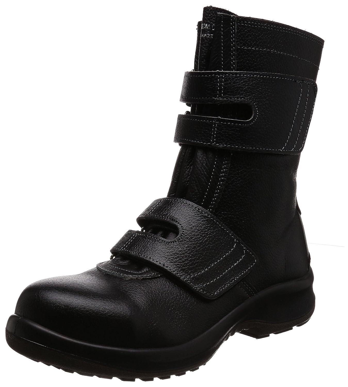 [ミドリ安全] 安全靴 JIS規格 長編上靴 プレミアムコンフォート PRM235 マジック B0761NZ6HP 28.0 cm 3E|ブラック