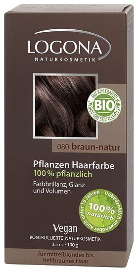 c53af771a Logona Hair Colour, Natural Brown 100 g: Amazon.co.uk: Beauty