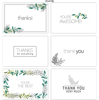 minimalist floral thank you cards 36 bulk thank you note cards blank cards inside