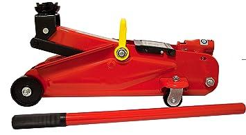 Vip - Gato hidráulico con ruedas de 2 Tn, capacidad de carga 2 Tn.
