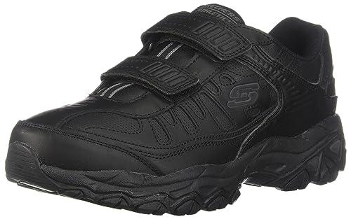 Skechers Men's AFTER BURN M.FIT - FINAL CUT Shoes, Black, ...