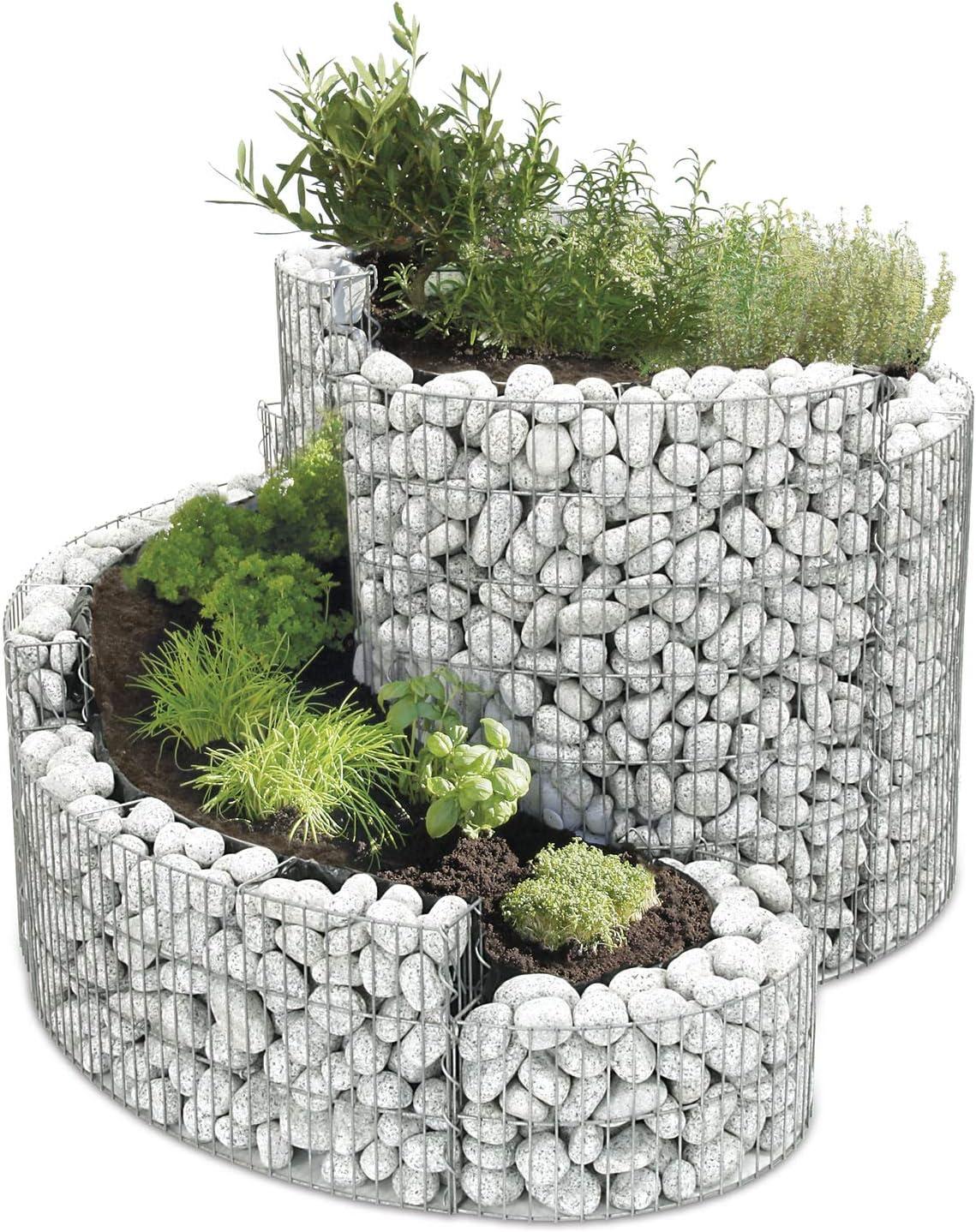 Nuevo Modelo hierbas espiral hierbas Caracol 140 x 110 cm Bellissa ...