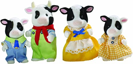 Flair Leisure Sylvanian Families - Familia de vacas (4 figuritas)