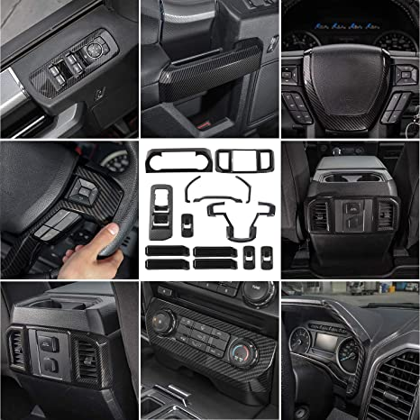 2017 Ford F 150 Interior >> Amazon Com Jecar Interior Decoration Trim Kit F150