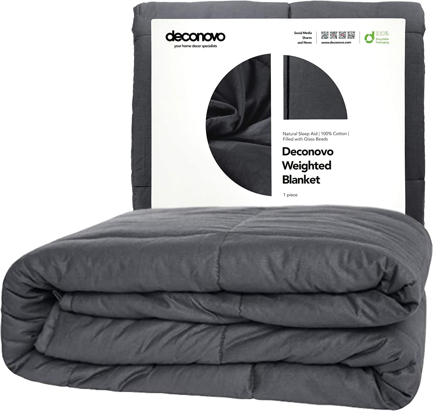 Amazon coupon code for Weighted Blanket Cotton