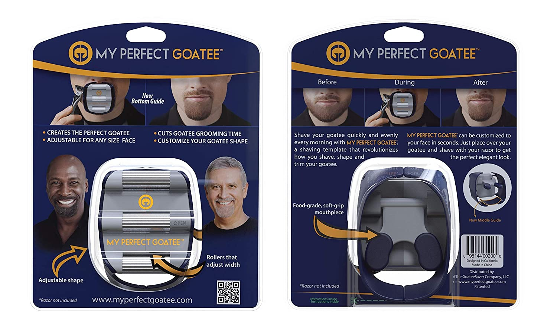 GoateeSaver- Goatee Shaving Template: Amazon.es: Salud y cuidado ...