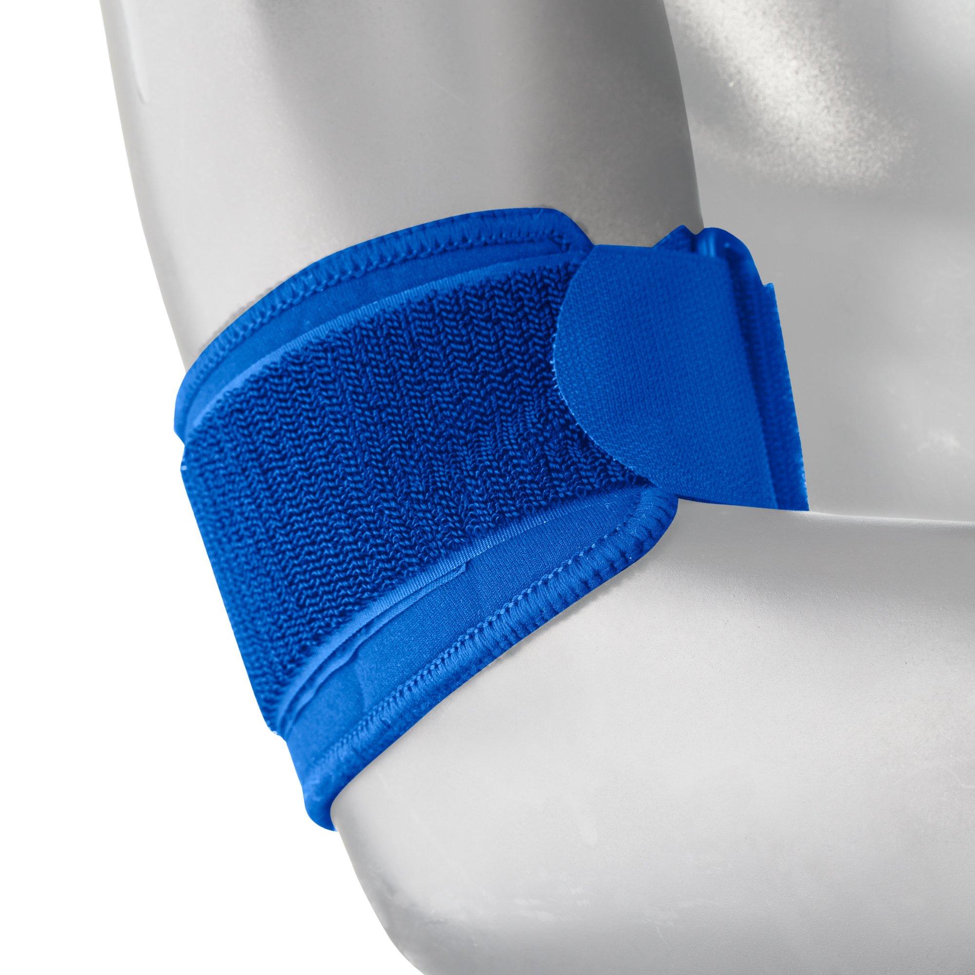 EVS Sports Unisex-Adult Neoprene Tennis Elbow Brace (Blue, Large)