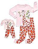 DinoDee Matching Doll Giraffe Pajama 4 Years
