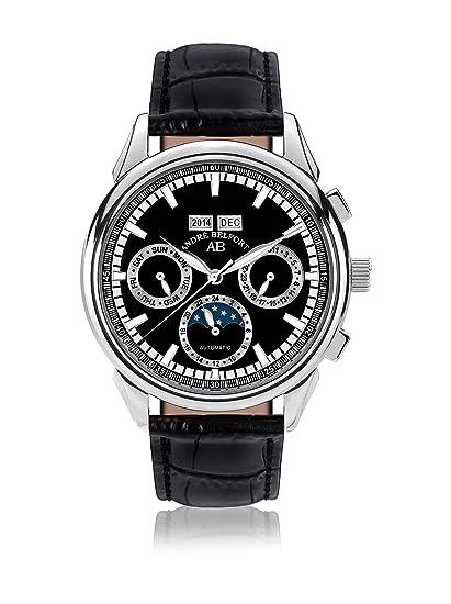 André Belfort 410214 - Reloj para hombres, correa de cuero: Amazon.es: Relojes