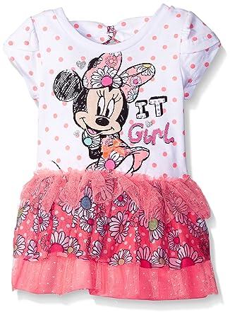 ed5711de2 Amazon.com: Disney Baby Girls' Minnie Mouse Tutu Dress: Clothing