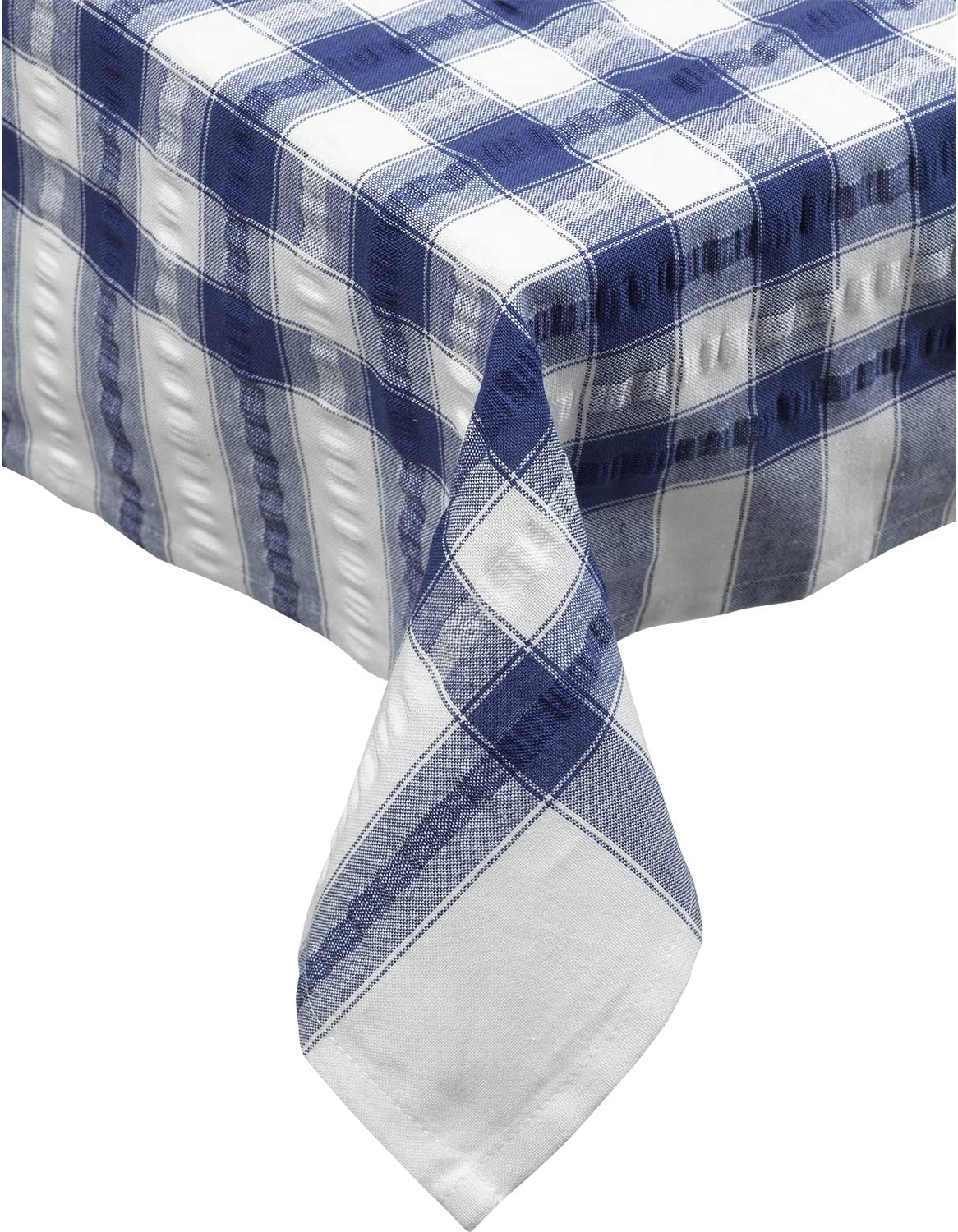A Small Grey Seersucker Tablecloths  36� x 36� Square  100/% Cotton Best Quality