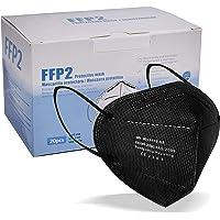 blackpoolal FFP2 CE 2163, Mascarilla de Protección Respiratoria - Protectora Respirador Antipolvo Homologada 5 capas…