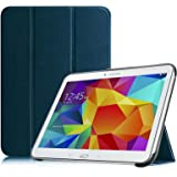 Fintie Samsung Galaxy Tab SmartShell Housse Case (Galaxy Tab 4 10.1, Blue Marrine)
